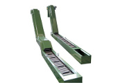 TM50S Conveyor with one curve and TM50SS special with double curve.