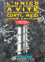 Catalogue about Screw centralized systems for metal swarf conveyance.
