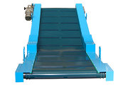 Conveyor belt NBS model with ample useful width.